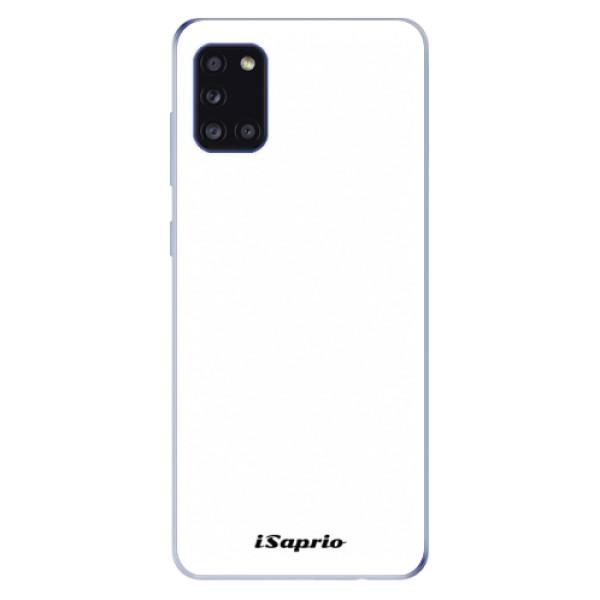 Odolné silikónové puzdro iSaprio - 4Pure - bílý - Samsung Galaxy A31