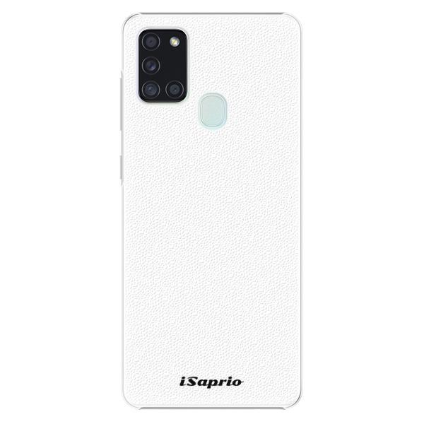 Plastové puzdro iSaprio - 4Pure - bílý - Samsung Galaxy A21s