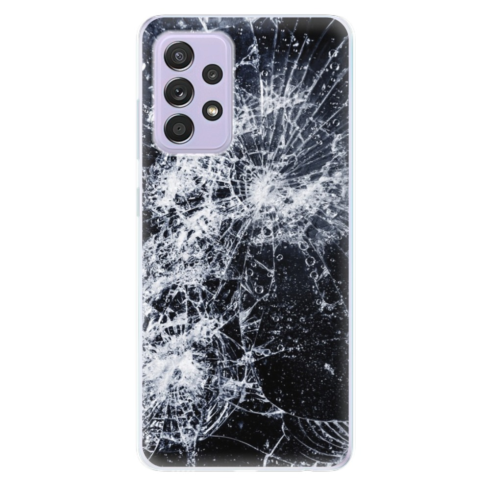 Odolné silikónové puzdro iSaprio - Cracked - Samsung Galaxy A52/A52 5G