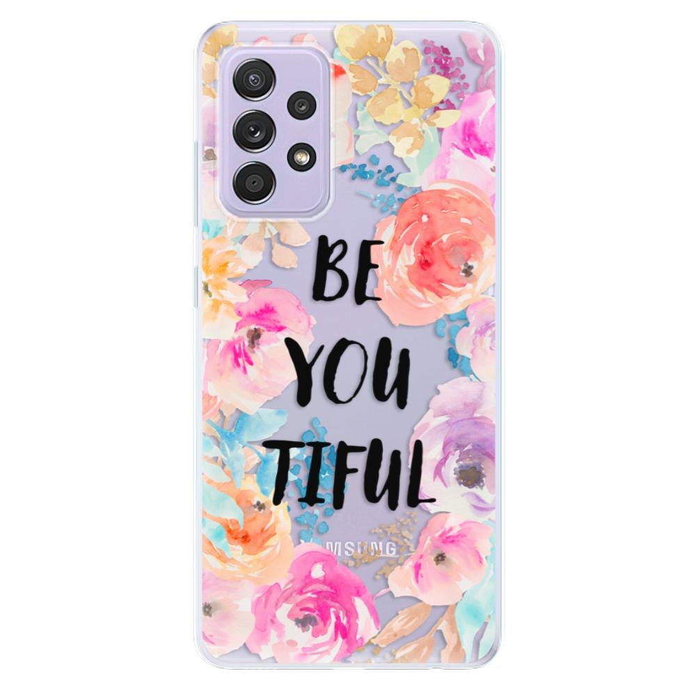 Odolné silikónové puzdro iSaprio - BeYouTiful - Samsung Galaxy A52/A52 5G