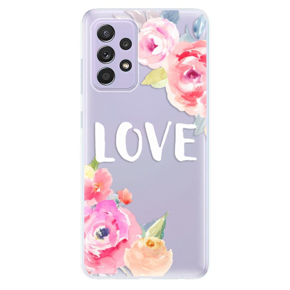 Odolné silikónové puzdro iSaprio - Love - Samsung Galaxy A52/A52 5G