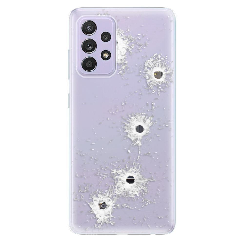 Odolné silikónové puzdro iSaprio - Gunshots - Samsung Galaxy A52/A52 5G