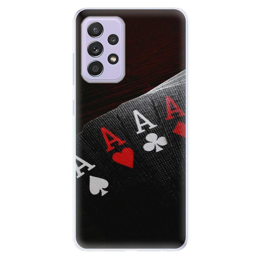 Odolné silikónové puzdro iSaprio - Poker - Samsung Galaxy A52/A52 5G