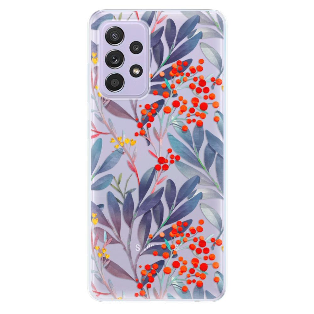 Odolné silikónové puzdro iSaprio - Rowanberry - Samsung Galaxy A52/A52 5G