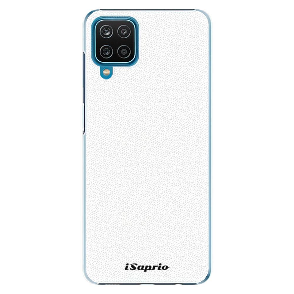 Plastové puzdro iSaprio - 4Pure - bílý - Samsung Galaxy A12