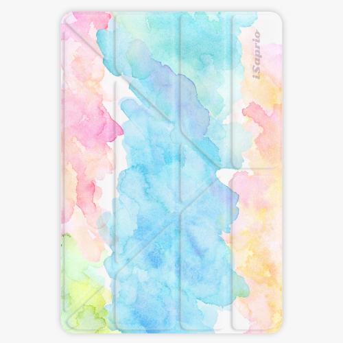 Kryt iSaprio Smart Cover na iPad - Watercolor 02 - iPad 9.7″ (2017-2018)