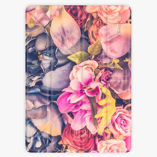Kryt iSaprio Smart Cover na iPad - Beauty Flowers - iPad 2 / 3 / 4