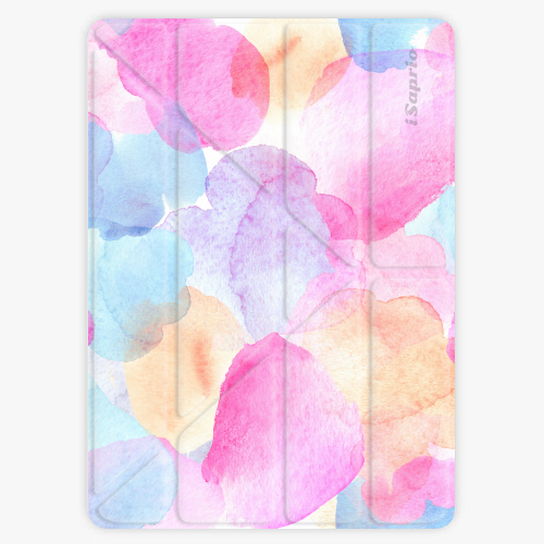 Kryt iSaprio Smart Cover na iPad - Watercolor 01 - iPad 2 / 3 / 4