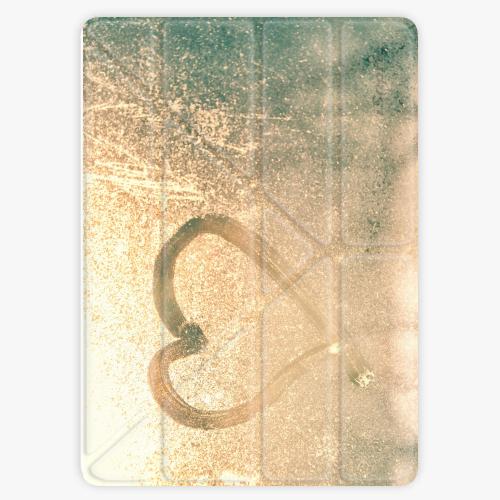 Kryt iSaprio Smart Cover na iPad - Heart on Window - iPad 2 / 3 / 4