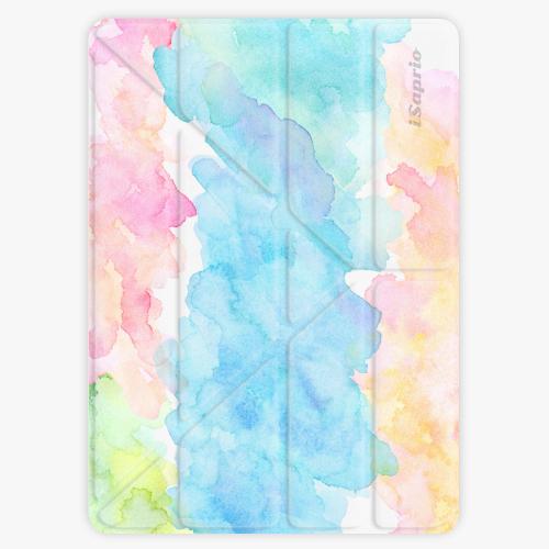 Kryt iSaprio Smart Cover na iPad - Watercolor 02 - iPad 2 / 3 / 4