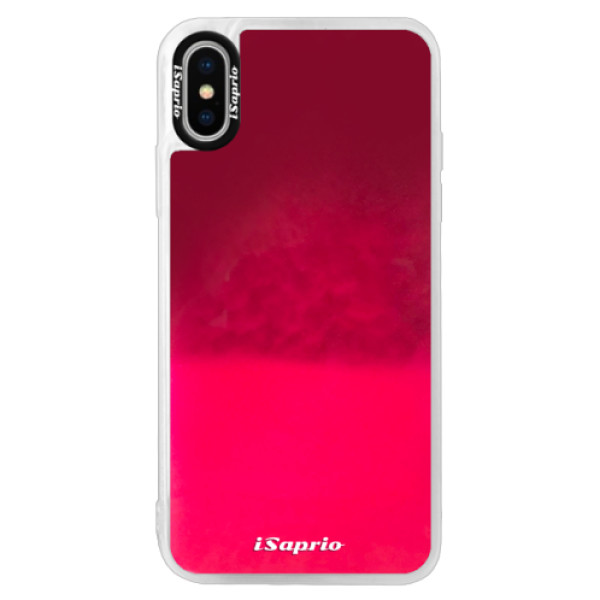 iPhone X (neónové puzdro Pink)