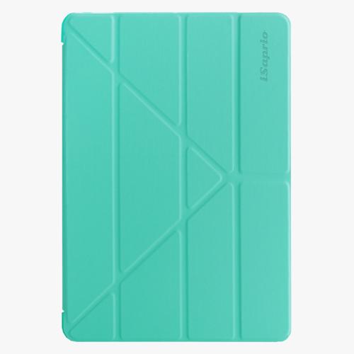 Kryt iSaprio Smart Cover na iPad - Cyan - iPad 2 / 3 / 4