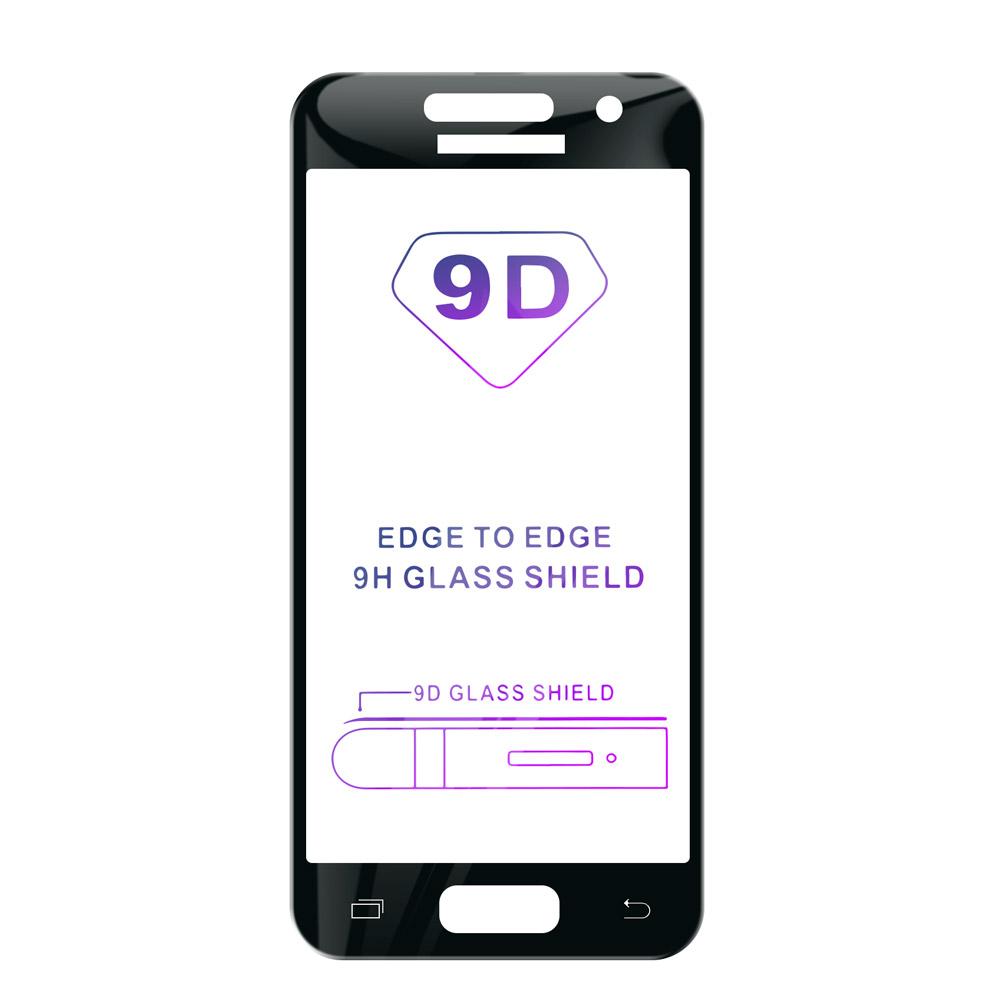 Tvrdené sklo iSaprio 9D BLACK pre Samsung Galaxy A5 2017