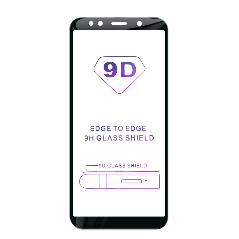 Tvrdené sklo iSaprio 9D BLACK pre Samsung Galaxy A7 (2018)