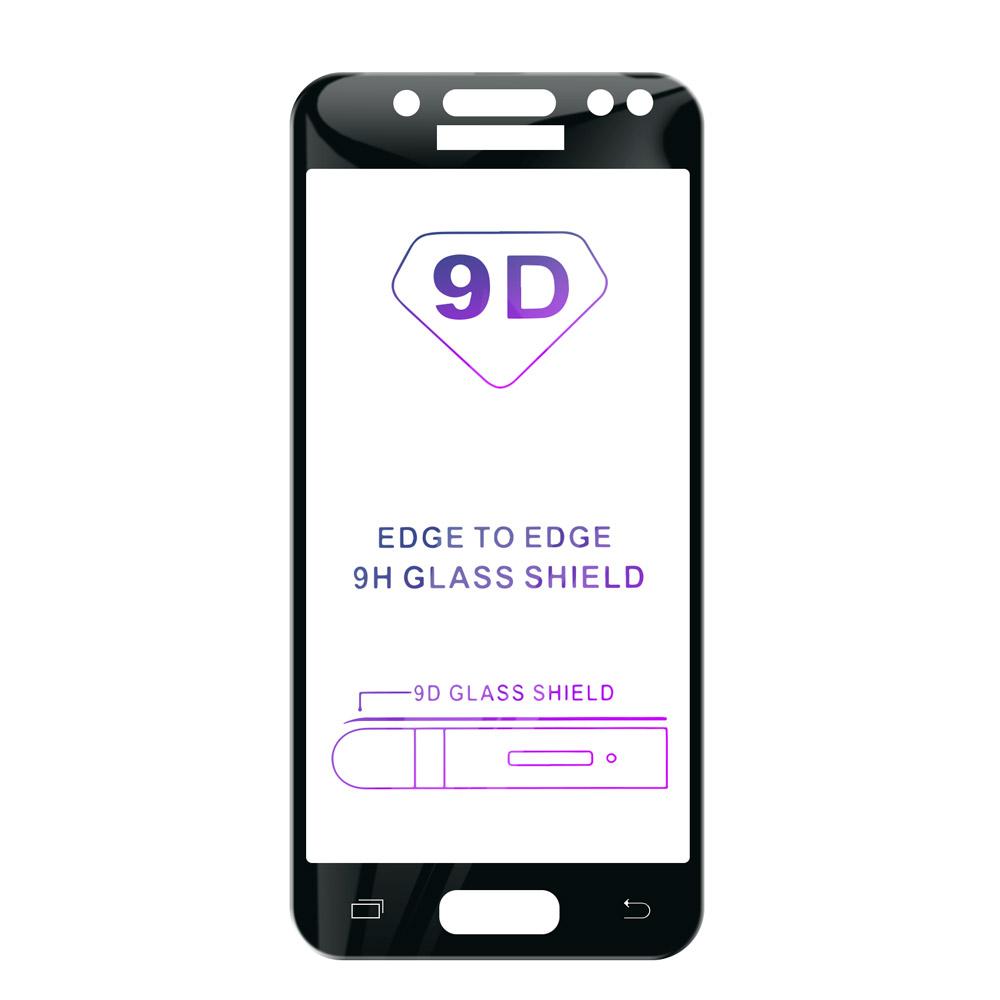 Tvrdené sklo iSaprio 9D BLACK pre Samsung Galaxy J5 2017