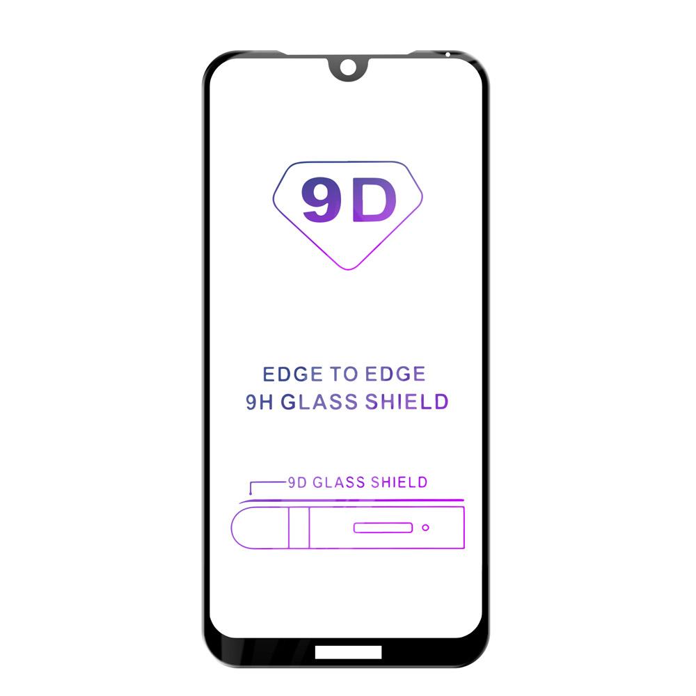 Tvrdené sklo iSaprio 9D BLACK pre Huawei Y5 (2019)