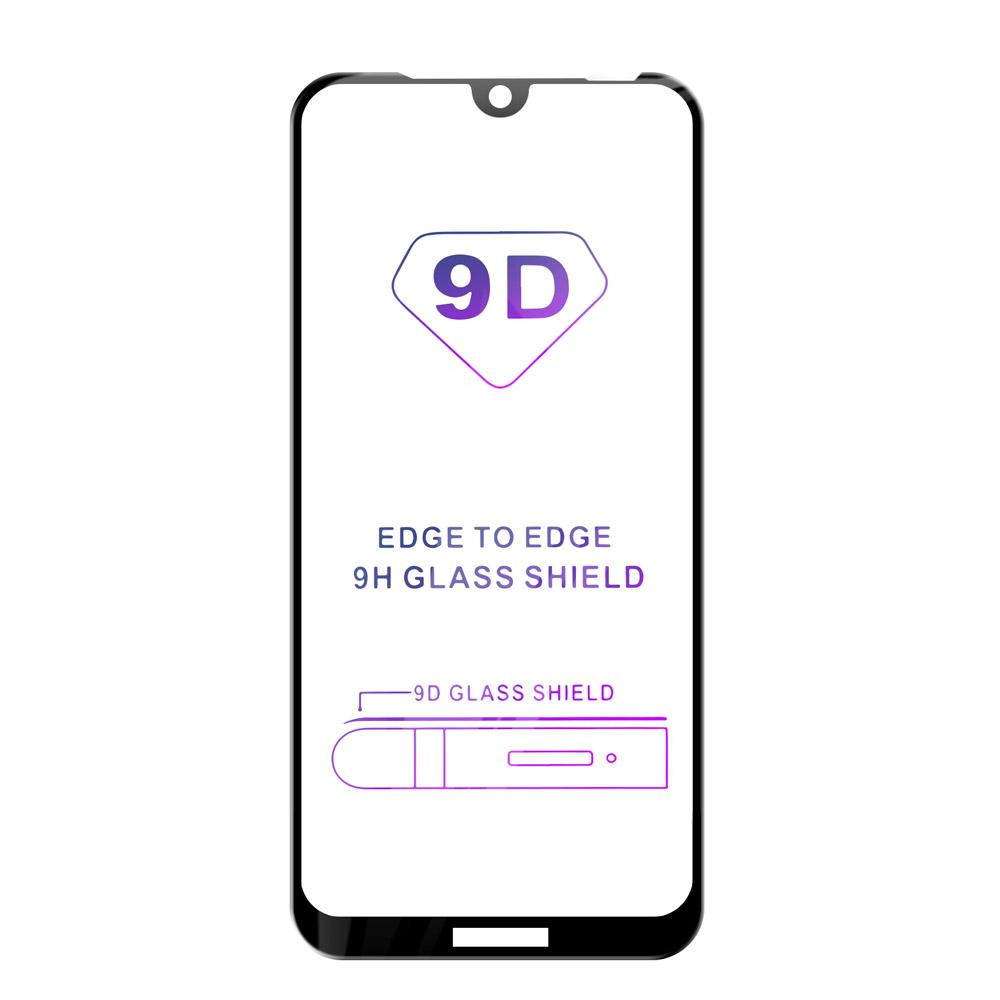 Tvrdené sklo iSaprio 9D BLACK pre Huawei Y6 2019