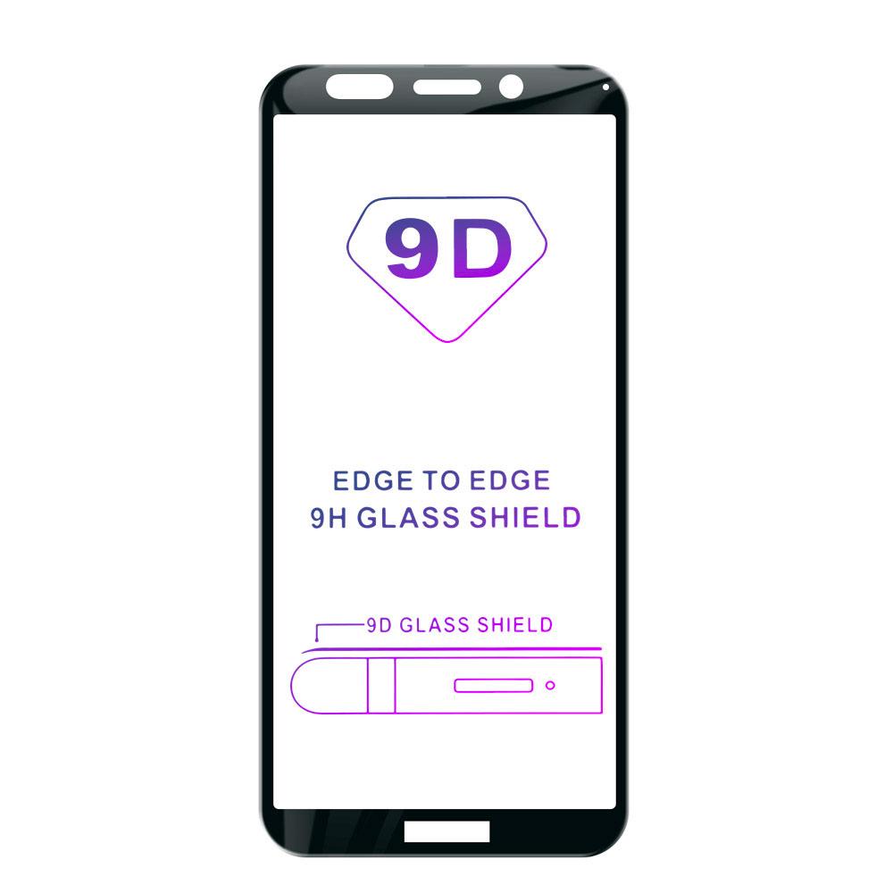 Tvrdené sklo iSaprio 9D BLACK pre Huawei Y5 2018